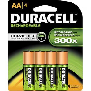 Duracell - Accu AA NiMH Rechargeable Batteries