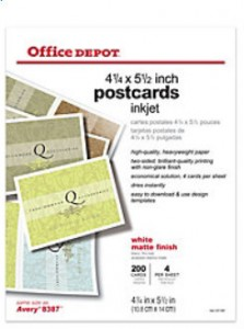 Office Depot Matte Postcards crop greenshot_2014-08-01_15-45-24