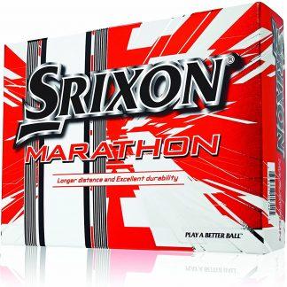 Srixon Marathon Golf Balls (12-Pack), White