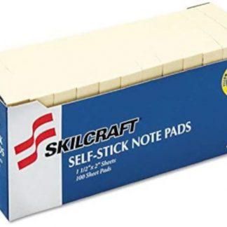 SKILCRAFT Sticky notes