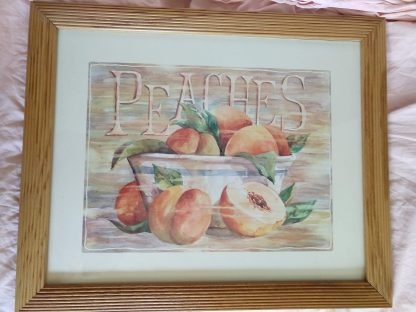 painting fruite peaches