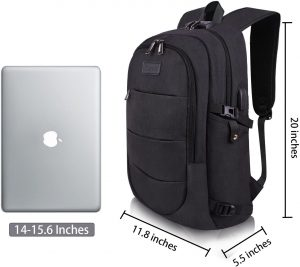 Fits standard laptop