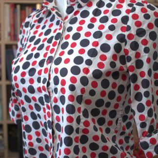 Pocka-dot Blouse
