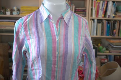 Color Stripe Blouse