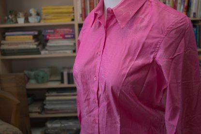 Pink Pattern Blouse